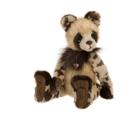 "Charlie Bears Secrect Collection Eccles 12"" Plush Bear"