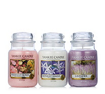 Yankee Candle Floral Scents Set of 3 Large Jars - 708499