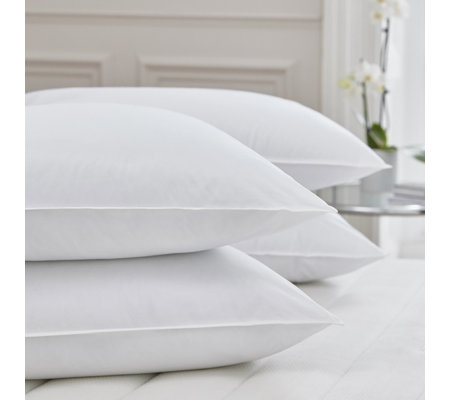 Silentnight Luxury Collection Pure Cotton Cover Anti Allergen Set of 4 Pillows