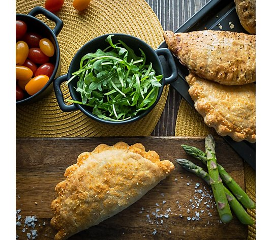 Wilfred's Pies Set of 12 Steak or Chicken Assorted Welsh Pasties