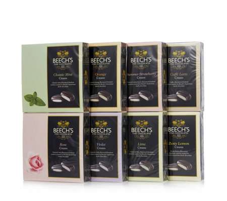 Beech's Fine Chocolates 8 Piece Natural Flavoured Creams Selection
