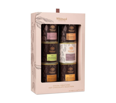 Whittard of Chelsea Set of 6 Finest Hot Chocolate Gift Set