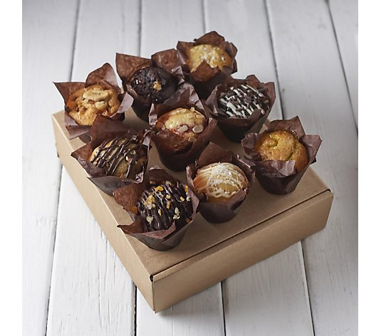 The Original Cake Company Luxury 9 Piece Assorted Muffins