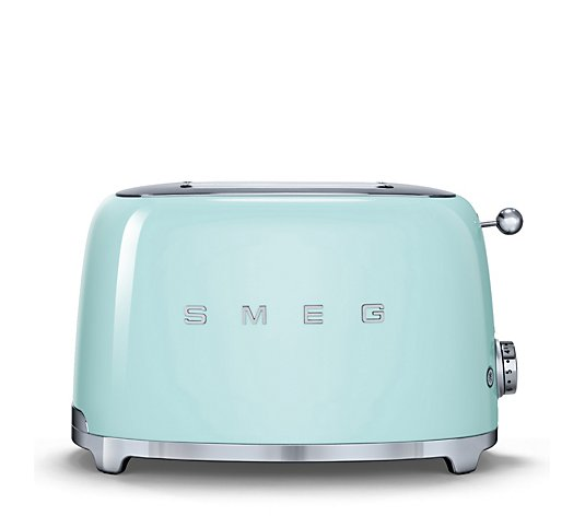 Smeg 2 Slice Retro Toaster with Bun Warmer & 2 Sandwich Racks