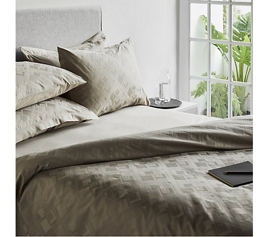 K by Kelly Hoppen 100% Cotton 6 Piece  Diamond Escape Duvet Collection