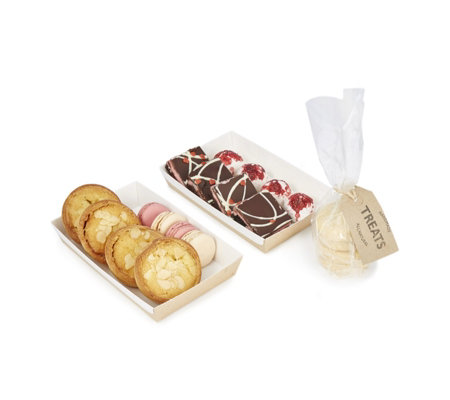 Heavenly Cakes 20 Piece Luxury Pink Afternoon Tea Selection