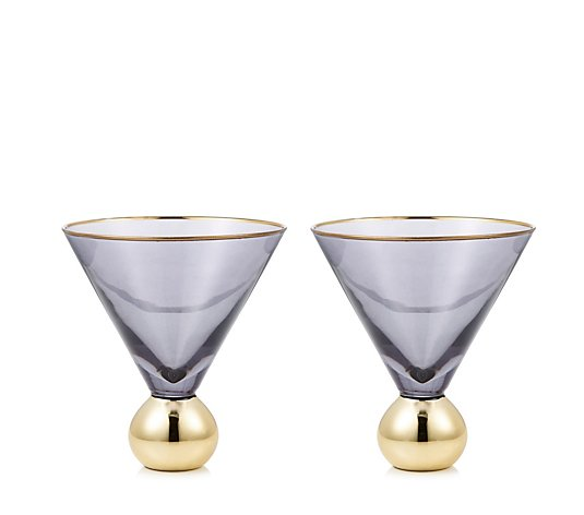 Bundleberry By Amanda Holden Set Of 2 Cocktail Glasses Qvc Uk