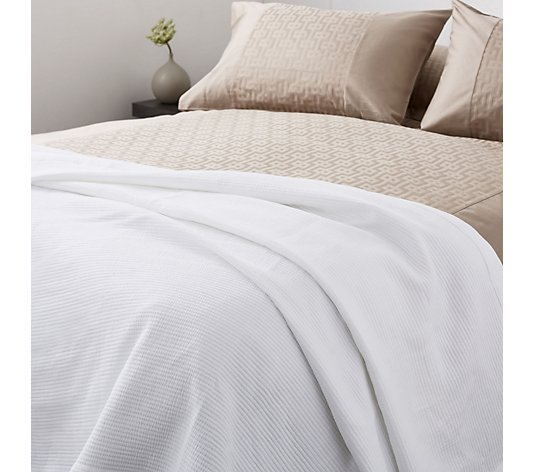 K by Kelly Hoppen 100% Cotton Crinkled Throw
