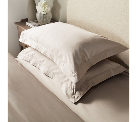 K By Kelly Hoppen Set of 2 Oxford Pillow Cases