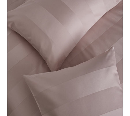 Silentnight Wide Sateen Stripe Duvet Set