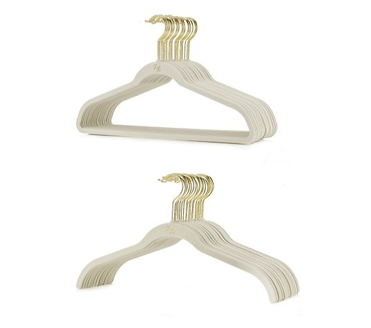 Huggable Hangers Set of 40 Ultra Slim Hangers