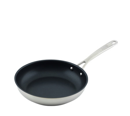 Kuhn Rikon Stainless Steel All Round 24cm Frying Pan with Stay Cool Handle