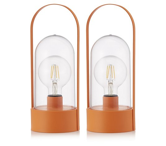 Bundleberry by Amanda Holden Set of 2 Indoor/Outdoor Lamps