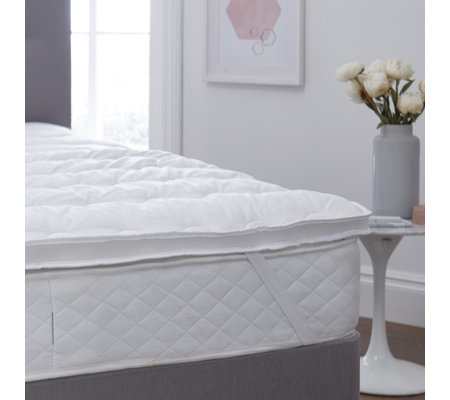 Silentnight Dual Layer Anti Allergen Airmax Mattress Topper