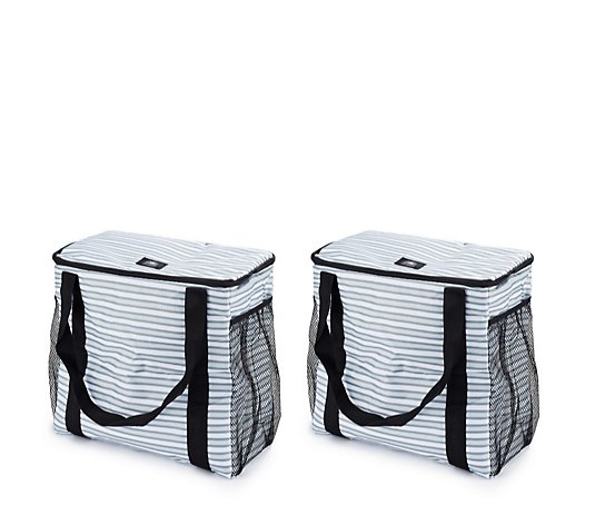 California Innovations Set of 2 Insulated Shopping Trolley Totes