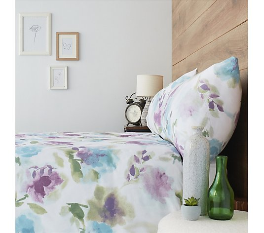 Cozee Home Supersoft Re-imagine Floral 3 Piece Duvet Set