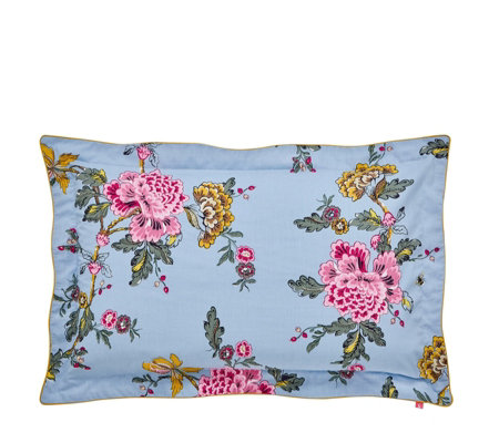 Joules Chinoise Floral Oxford Pillowcase
