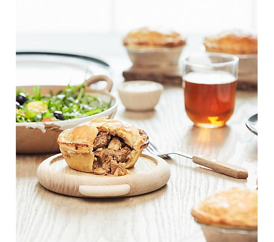 The Real Pie Company 10 Piece Assorted Steak Pies