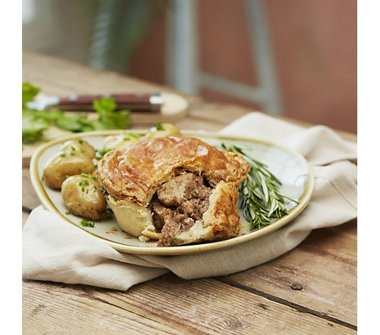 The Real Pie Company 6 Piece Assorted Beef Pies