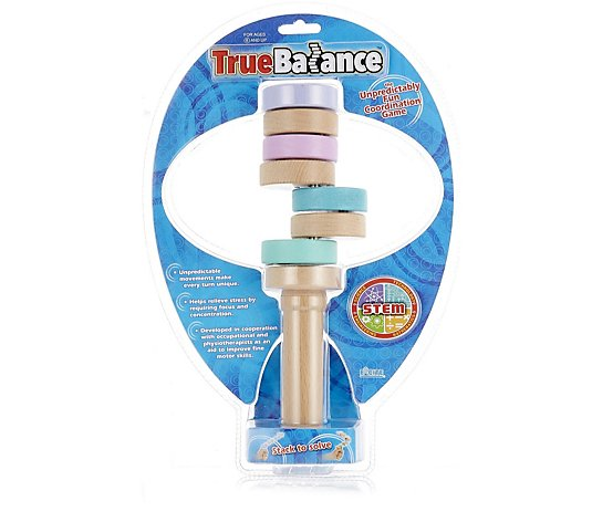 Outlet True Balance Wooden Handheld Balancer
