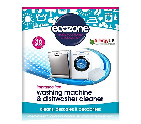 Ecozone Washing Machine & Dishwasher Cleaner 36 Tablets