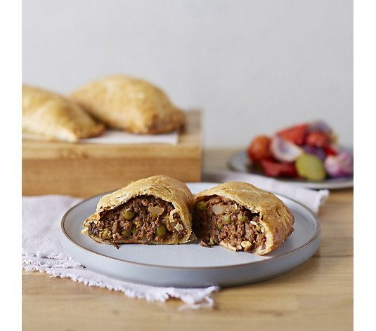 The Real Pie Company 12 Piece Assorted Steak & Bacon Pasties