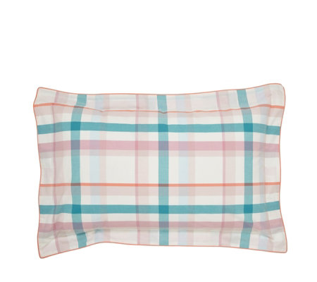 Joules Cottage Check Oxford Pillowcase