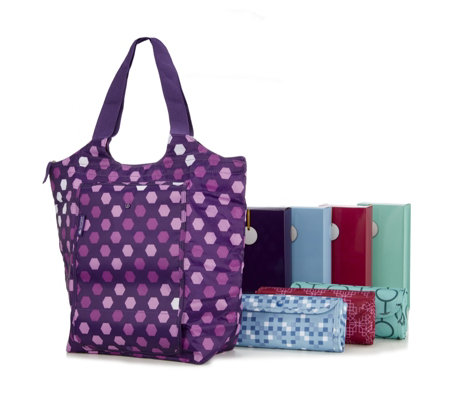 California Innovations Set of 4 Insulated Shopping Totes
