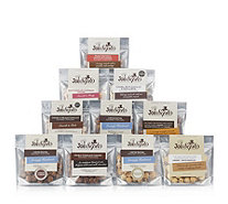 Joe & Seph's Set of 10 Chocolate Snack Pack Selection - 807431