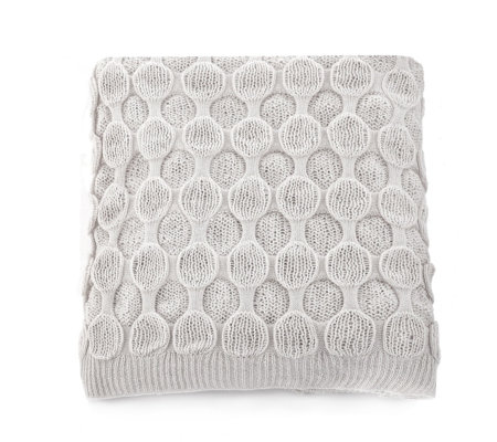 Alison Cork Knitted Throw