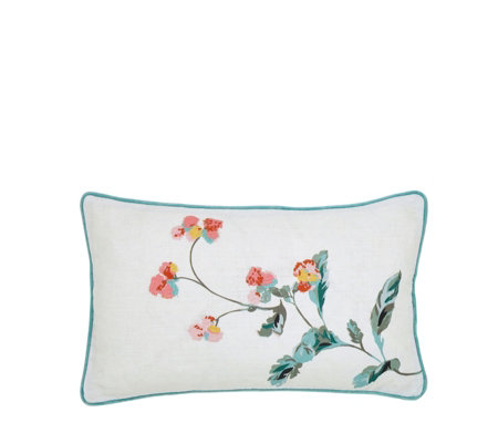 Joules Cottage Check Cushion