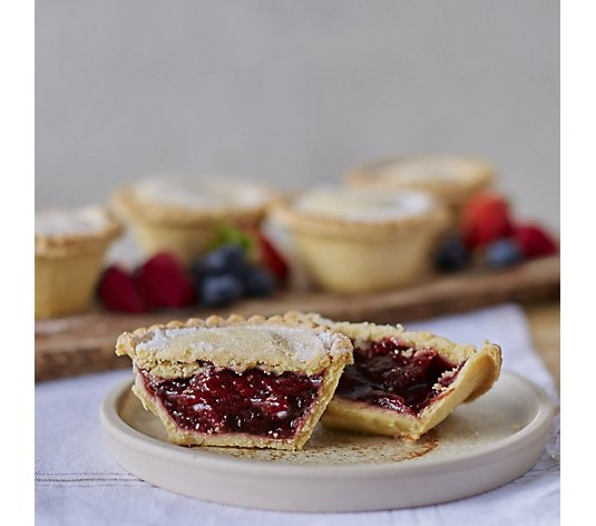 The Real Pie Company 8 Piece Assorted Festive Fruit Pies