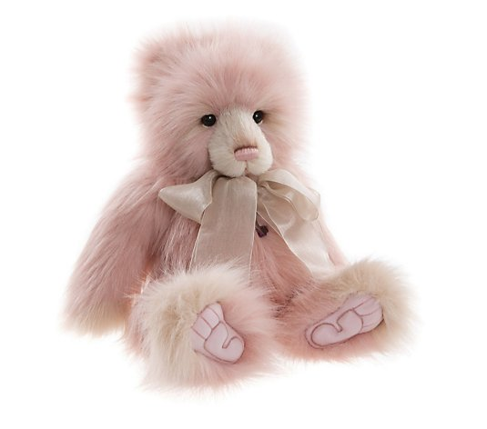 "Charlie Bears Collectable Tania 17.5"" Plush Bear"