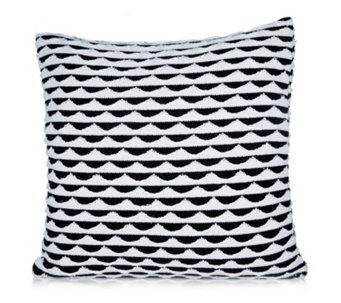 BundleBerry by Amanda Holden Double Layered Knit Cushion - 806636