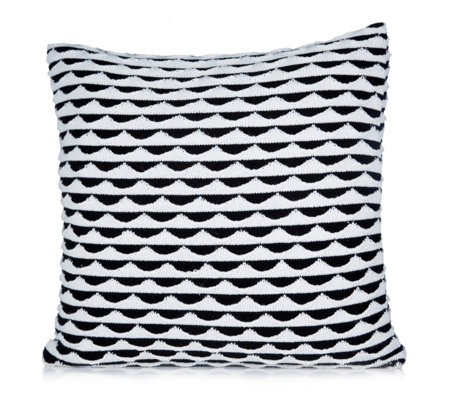 BundleBerry by Amanda Holden Double Layered Knit Cushion