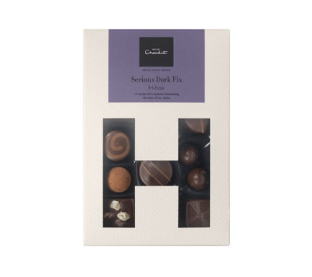 Hotel Chocolat Serious Dark H Box 14pc Collection