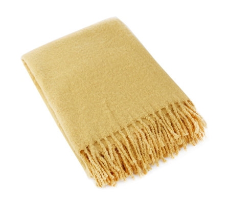 Alison Cork Woven Throw with Fringing
