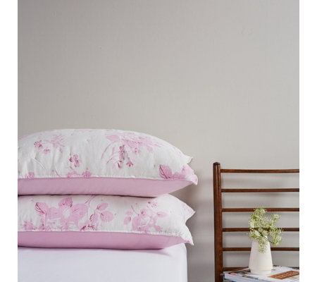 Supersoft by Cozee Home Sophia Rose Vintage Wash Pillow Shams
