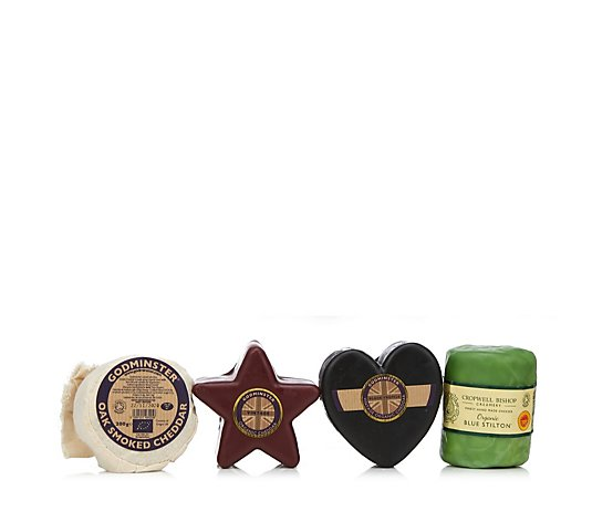 Godminster Christmas Four Cheese Signature Gift Box