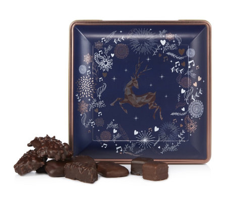 Lambertz 750g Decorative Stag Tin with German Gingerbread