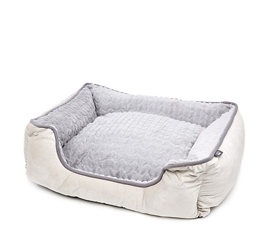 Cozee Home Plush Rectangle Pet Bed