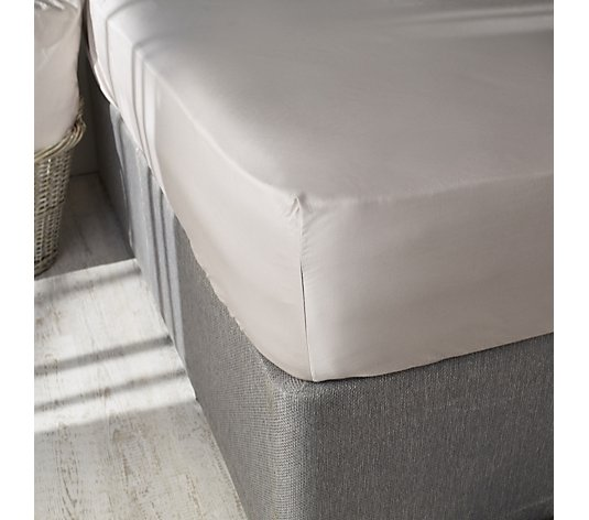 K by Kelly Hoppen 100% Cotton Set of 2 Deep Pocket Fitted Sheets