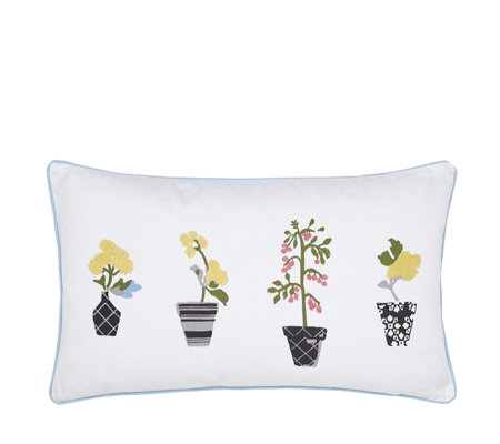 Joules Garden Dogs Cushion