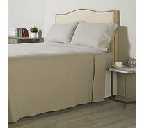 K by Kelly Hoppen Cashmere Blend Brushed Cotton 4 Piece Sheet Set - 806550
