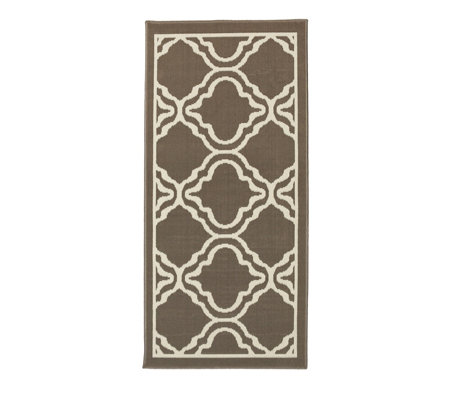 Home Reflections Marrakech Indoor & Outdoor Stain Resistant Easy Clean Rug