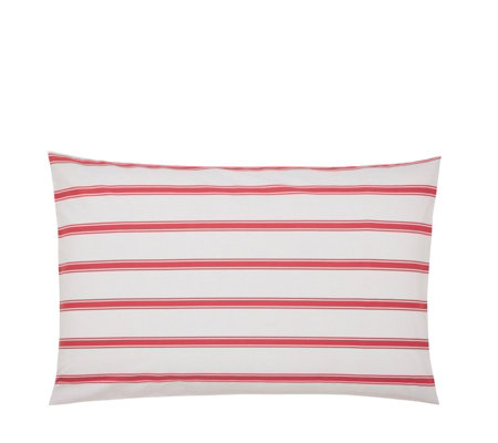 Joules Sailing Stripe Standard Pillowcase