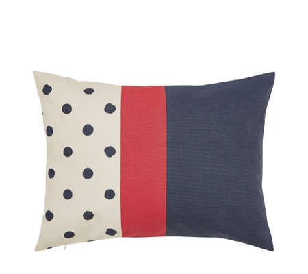 Joules Sailing Stripe Cushion