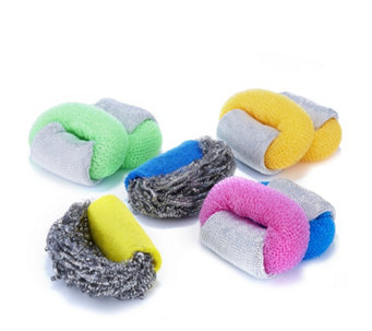 Scrubrite Set of 8 Regular & Heavy Duty Scourers Kit - 804856