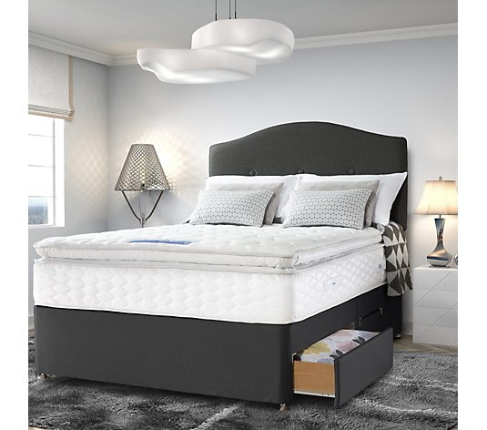 Sealy Posturepedic Gel Supreme 1400 Springs Pillowtop Mattress and Divan Bed