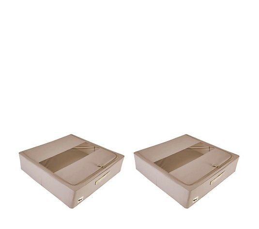 Periea Set of 2 Large Underbed Storage Boxes